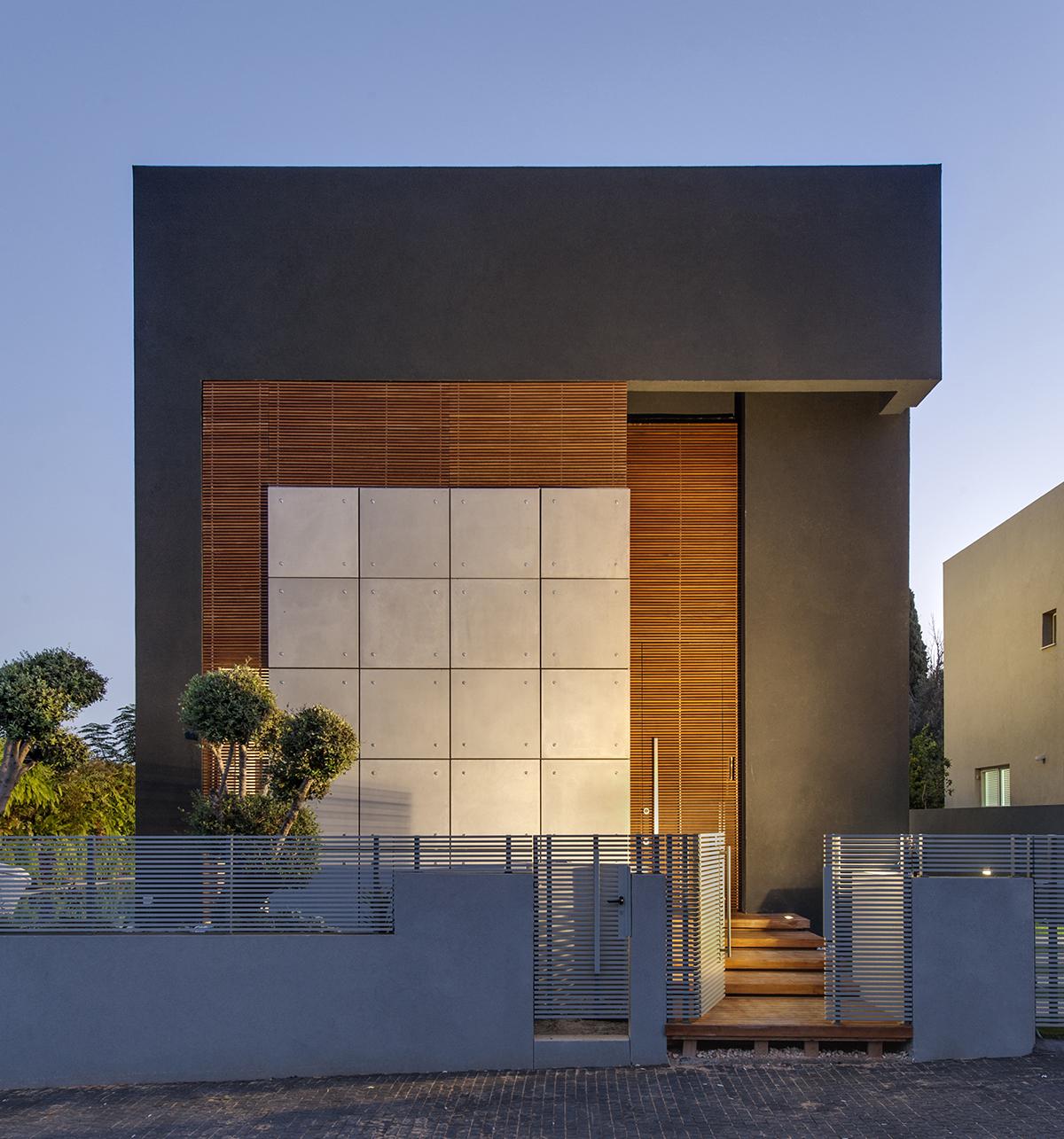 Hidden House trellis exterior