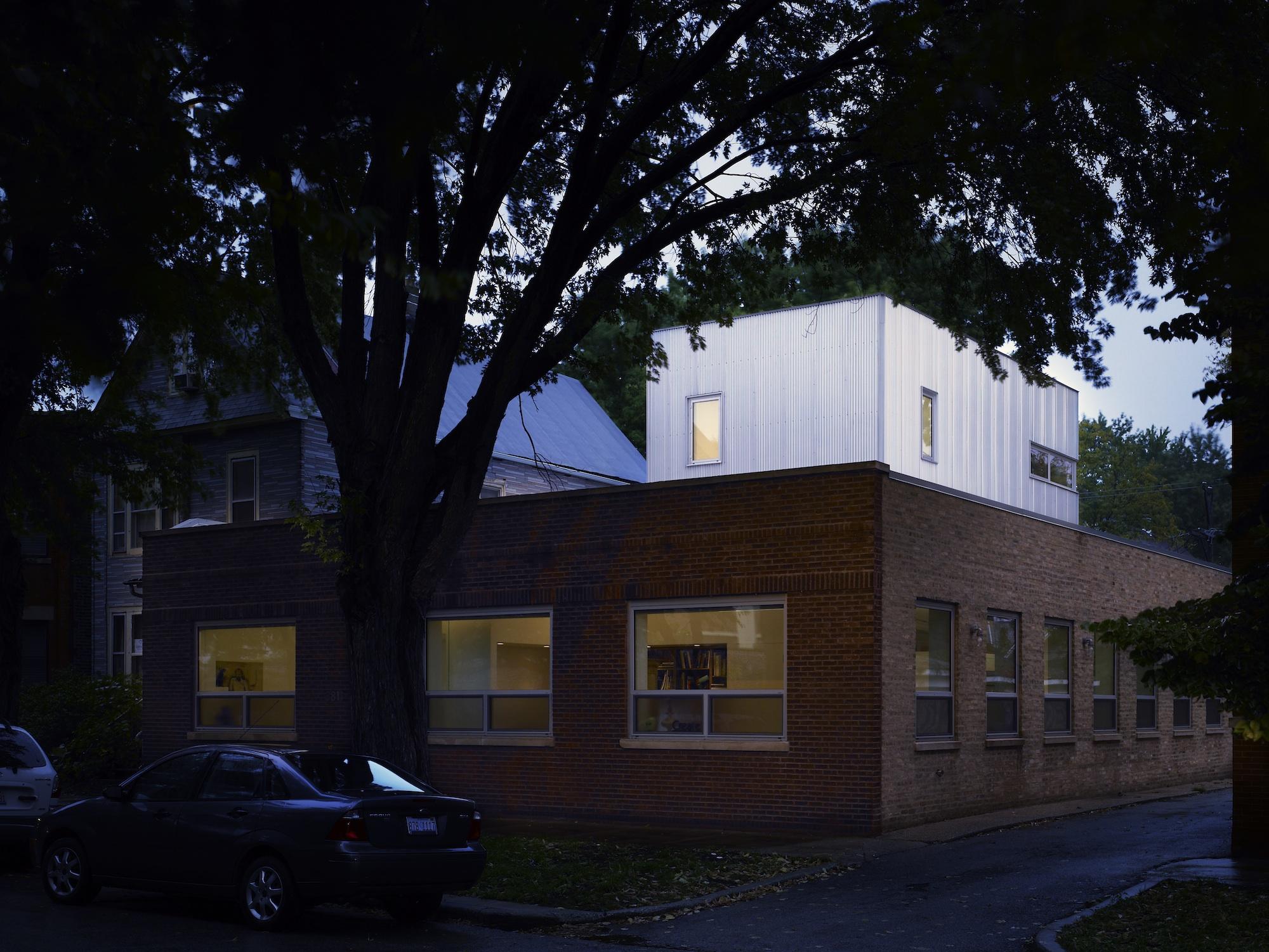 Loft House original building exterior