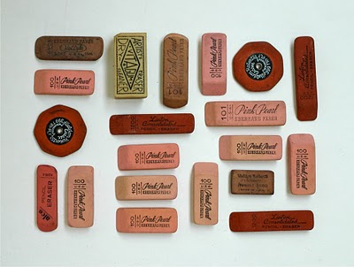 100 collections lisa congdon erasers