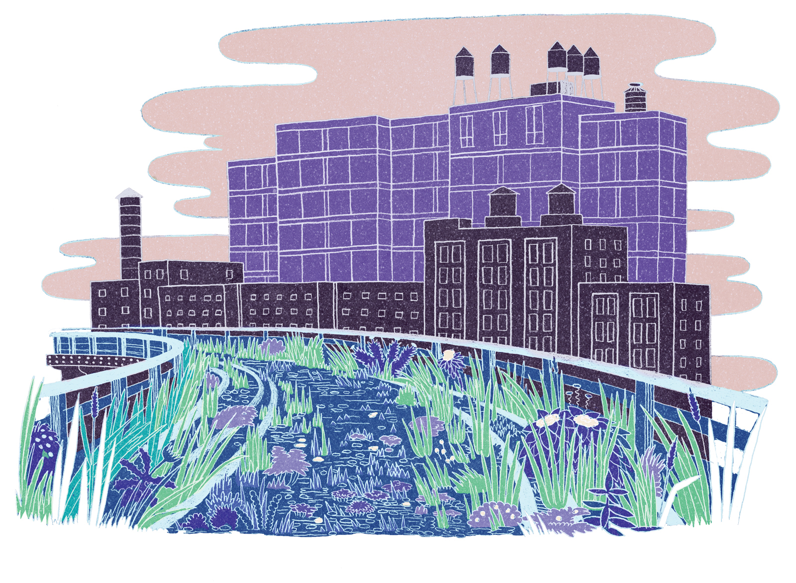 101 building illustration