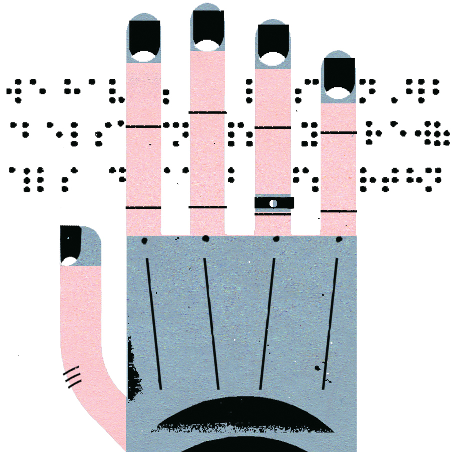 101 universal design visible touch hand braille