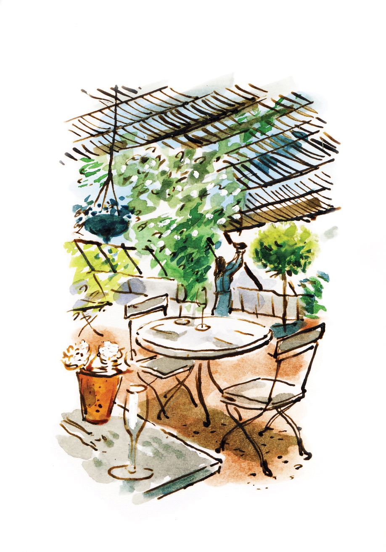 3107 Chair dan williams illustration