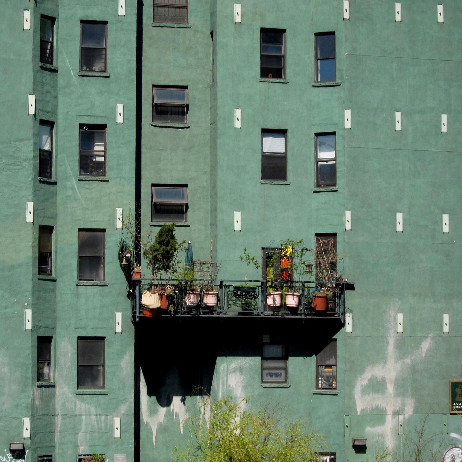<i>Green Wall, NYC</i> shot by Loren Madsen in New York, New York.