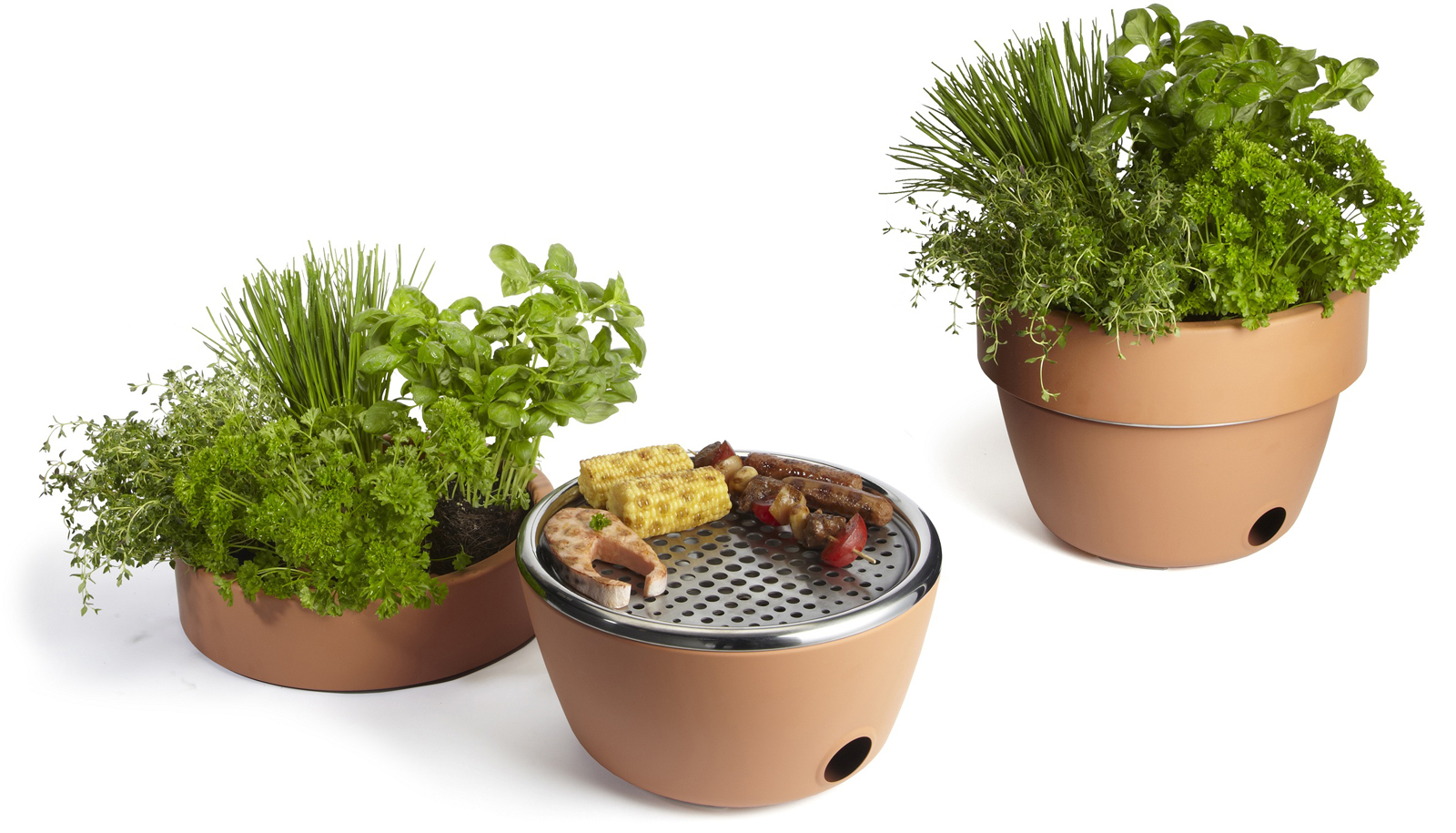 "One of the most recent products from Black+Blum is its <a href=""http://www.dwell.com/products/hot-pot-bbq.html"">Hot Pot BBQ</a>. The terracotta herb pot doubles up as a mini grill."