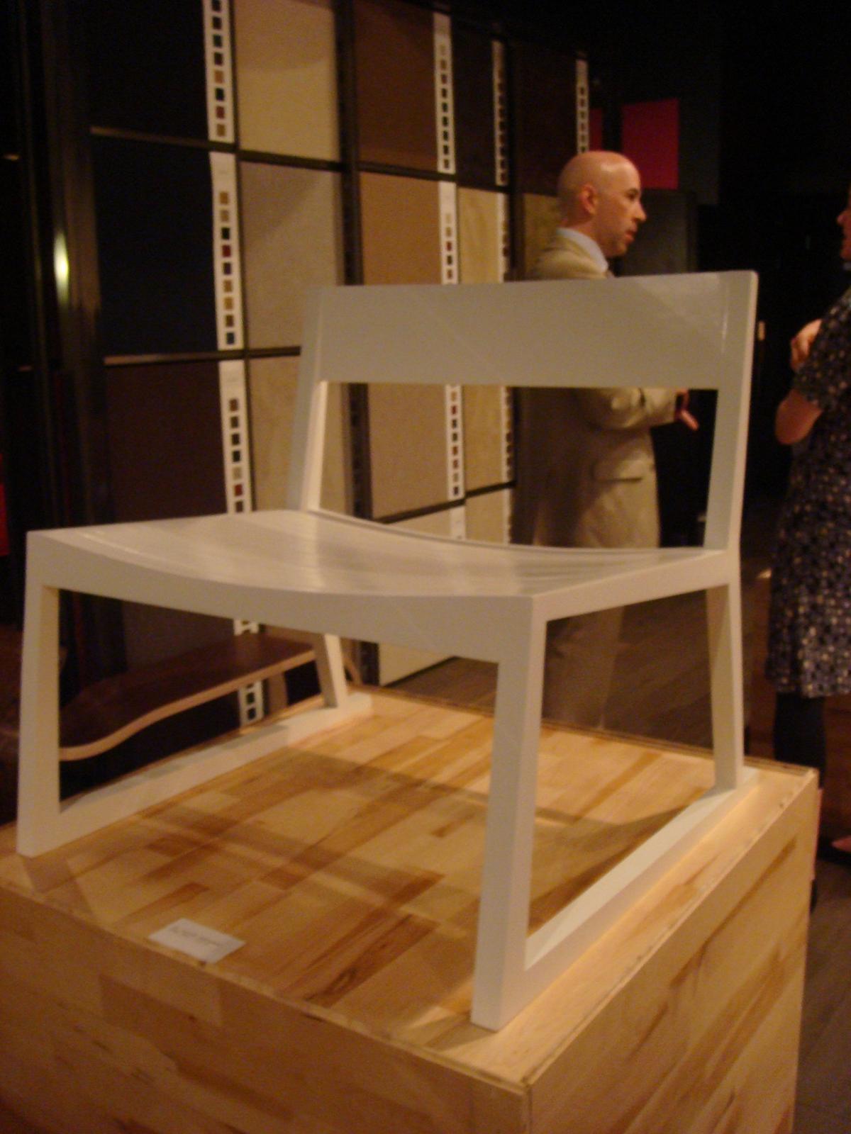 "The Husky Chair, by designer <a href=""http://www.od-design.com/Husky%20OD.htm"">Olivier Desrochers</a>."