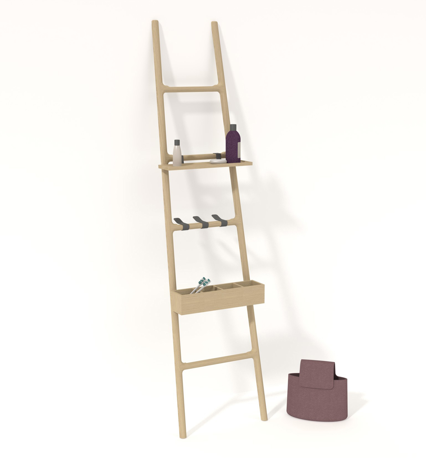 The Tilt rack by SmithMatthias for Discipline.