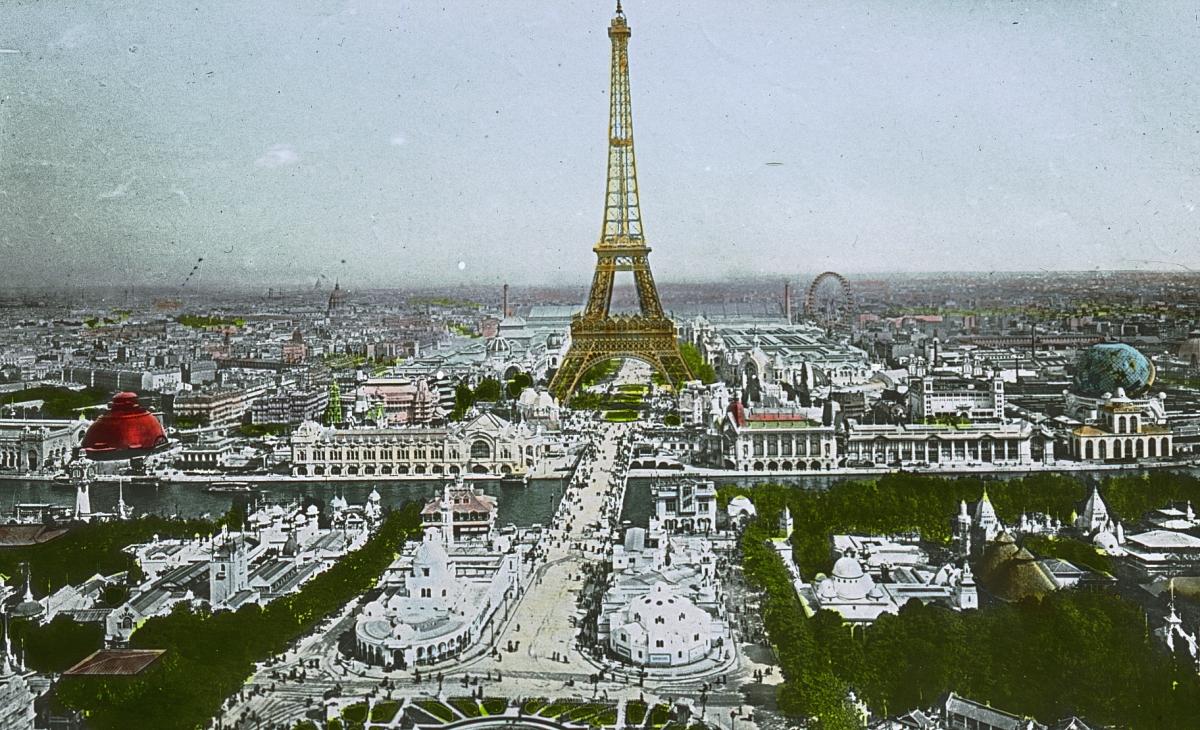 Eiffel Tower Brooklyn Museum