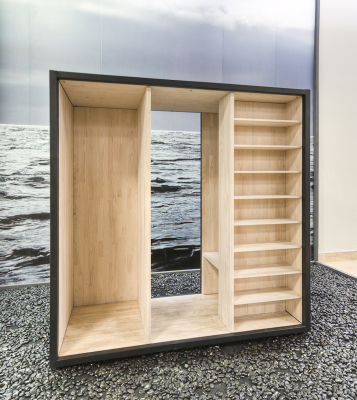 Emergency Architecture Rintala Eggertson Architects Single Shelf Unit