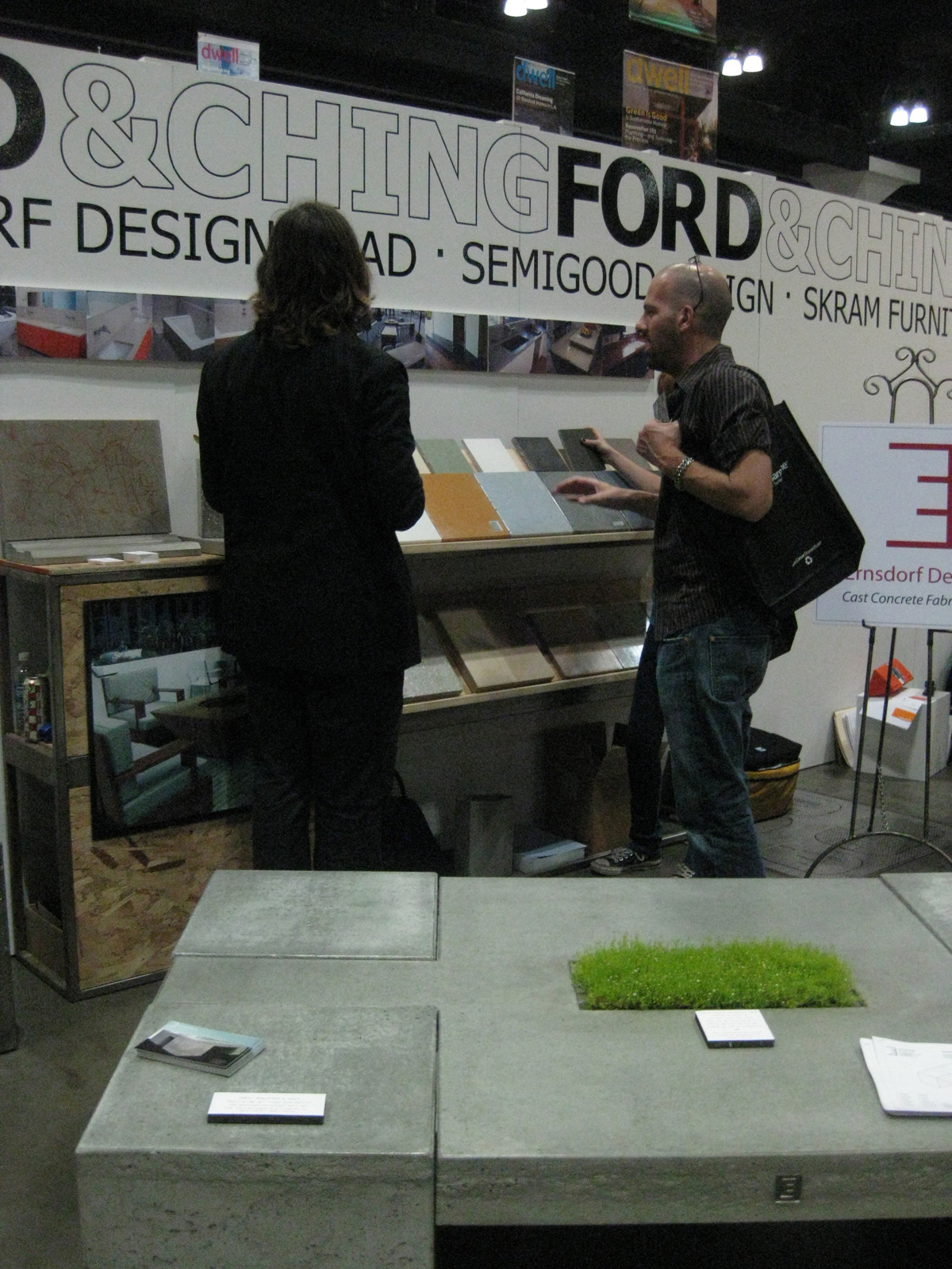 Ernsdorf Design dwell on design concrete