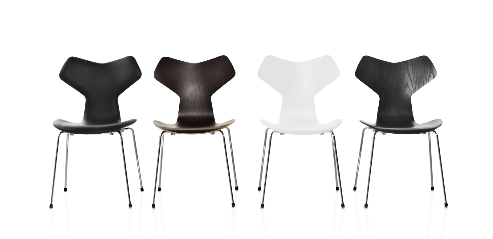 Grand Prix chairs by Arne Jacobsen for Fritz Hansen