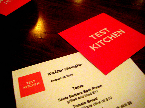 LA Mag Test Kitchen