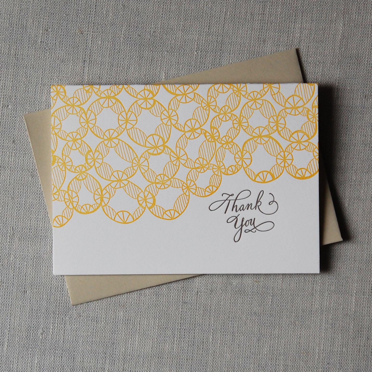 Linda Harriet Thank You Card