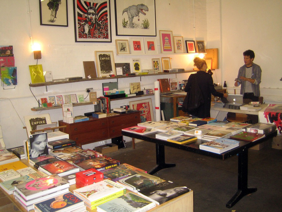 "My first stop was in Red/Material Gallery, a terrific design bookshop. They were still taking down an exhibit, but their finely curated selection of books, magazines, and objects shone through. I picked up a copy of the new men's magazine <a href=""http://"