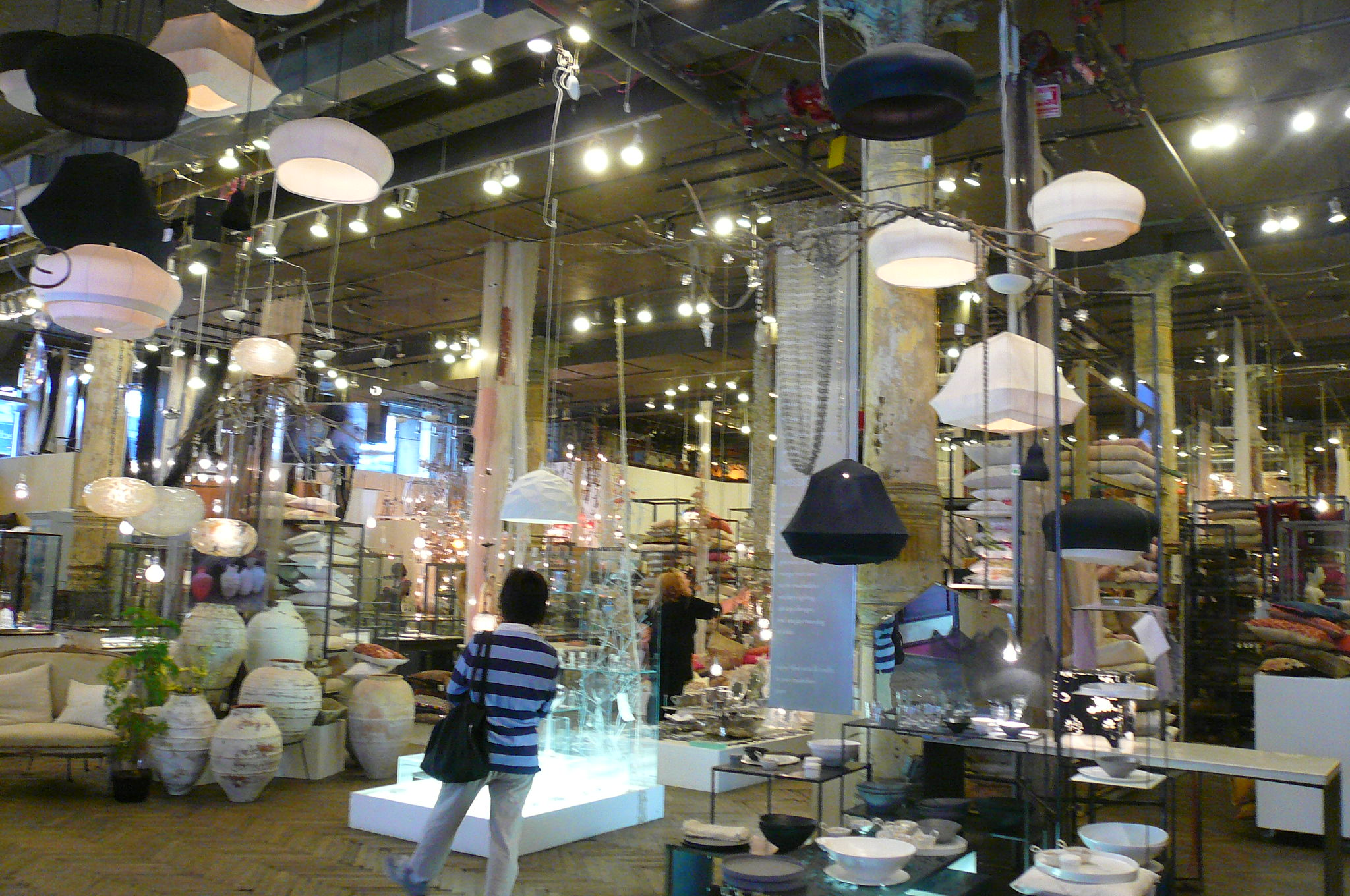 Next stop: my favorite-ever store, the surreal design fantasyland that is ABC Carpet & Home. It's six stories of sensory overload, but in the best way possible.