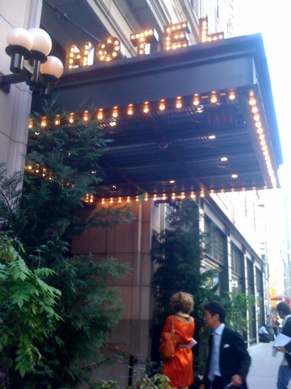 Then I made a beeline for the Ace Hotel, designed by the New York-based firm Roman and Williams. I love the showbiz entrance.