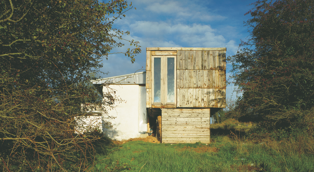 This is the house Irish architect Dominic Stevens built for himself. Photo by Ros Kavanaugh.