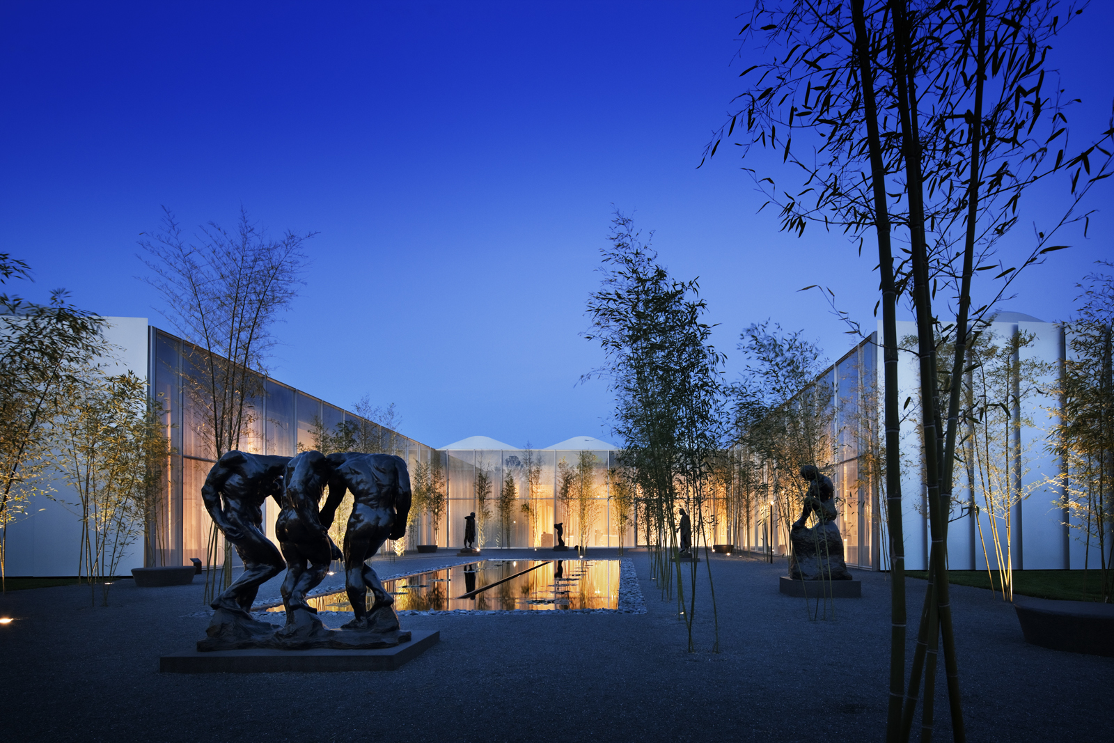 "The North Carolina Museum of Art in Raleigh, North Carolina. Designed by Thomas Phifer and Partners. Winner of the 2011 Institute Honor Award for Architecture. Project description: ""The museum is, in essence, a single 65,000-square-foot room, separated by"