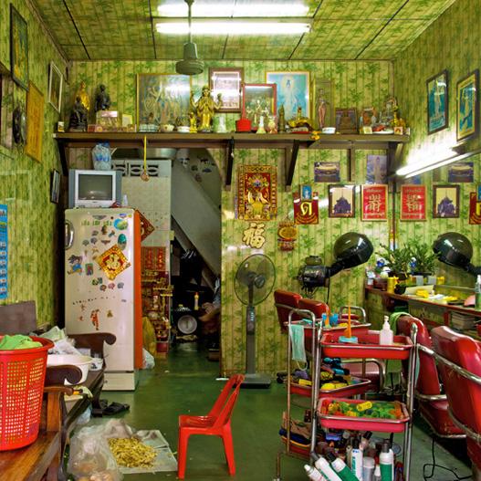 """""""Hair Salon,"""" Bangkok, Thailand. (2010)"""