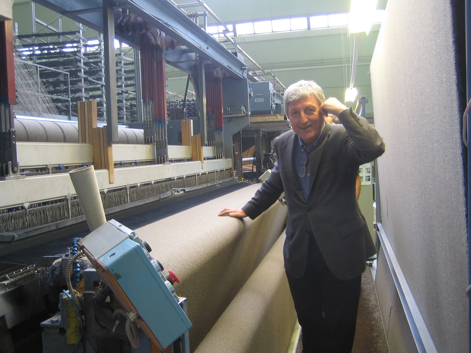 Peter Ruckstuhl is a fourth generation carpet maker, whose commitment to sustainability is as strong as his business sense.
