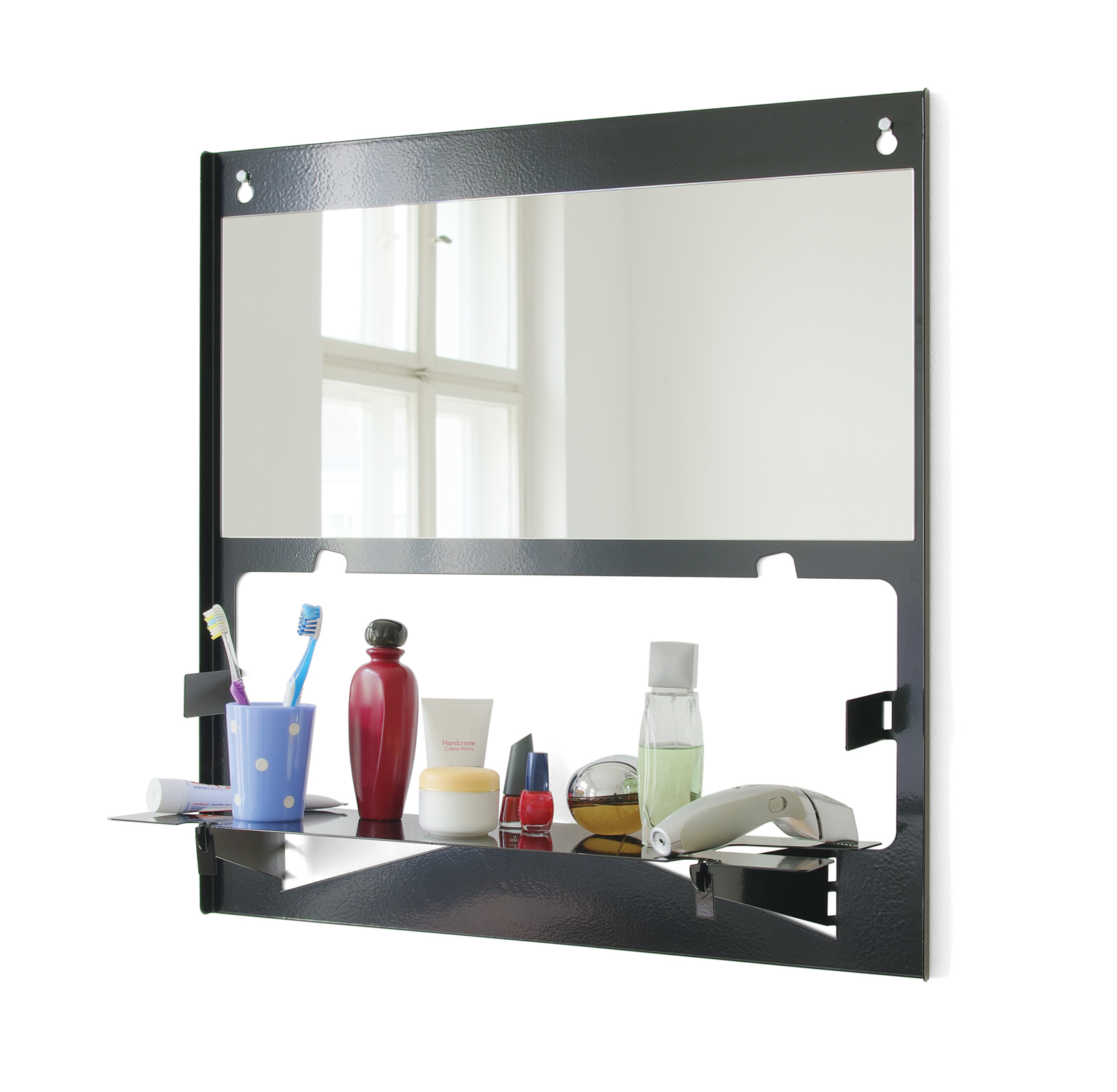 Piegato mirror by Matthias Ries for MRDO products