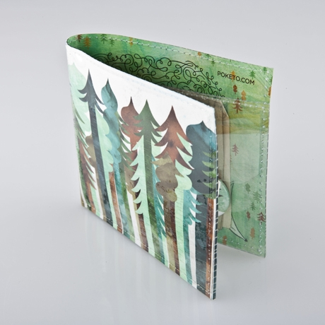 "From the new <a href=""http://poketo.com/shop/index.php?route=product/category&path=35_112"">Spring Forward</a> collection, Jolby's forest-themed wallet design."