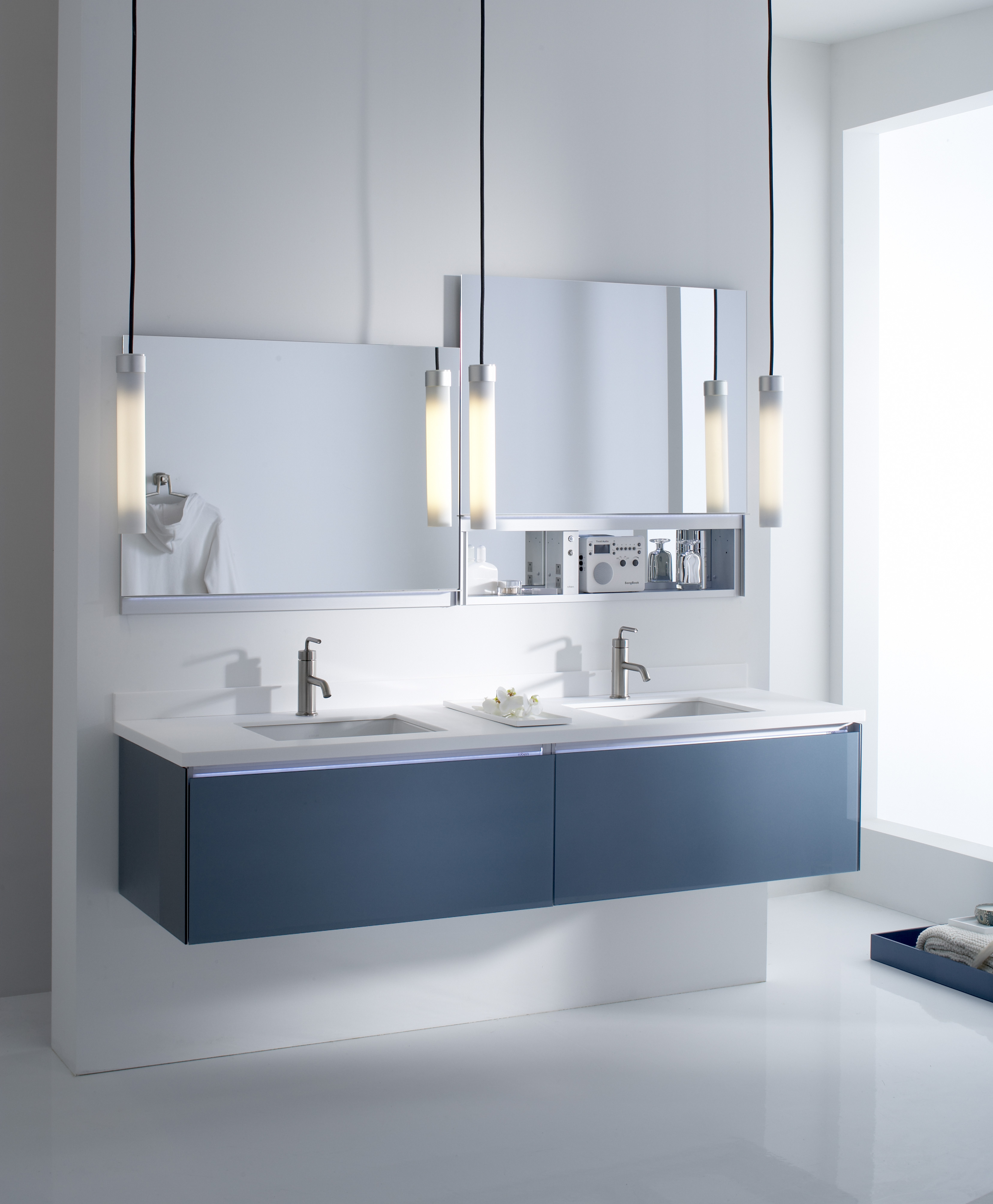 The Robern 36-inch wall-mount vanity by Kohler