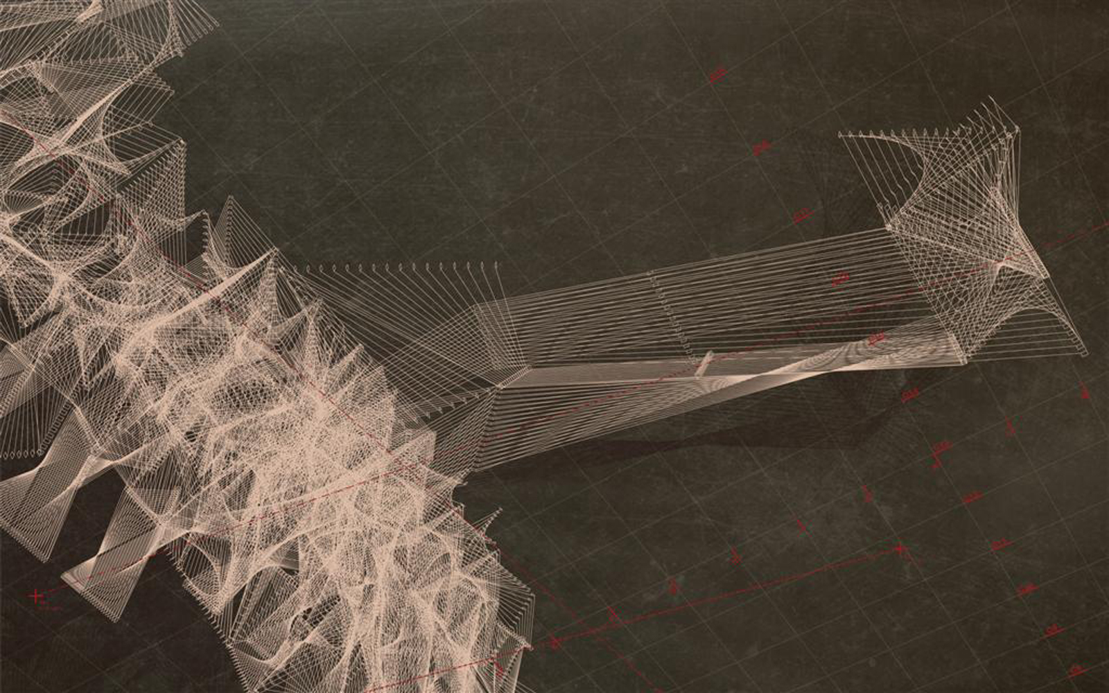 And another conceptual drawing of the installation.
