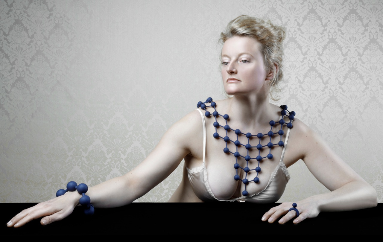 Jewelry by Dutch designer Alissa Melka-Tiechroew.