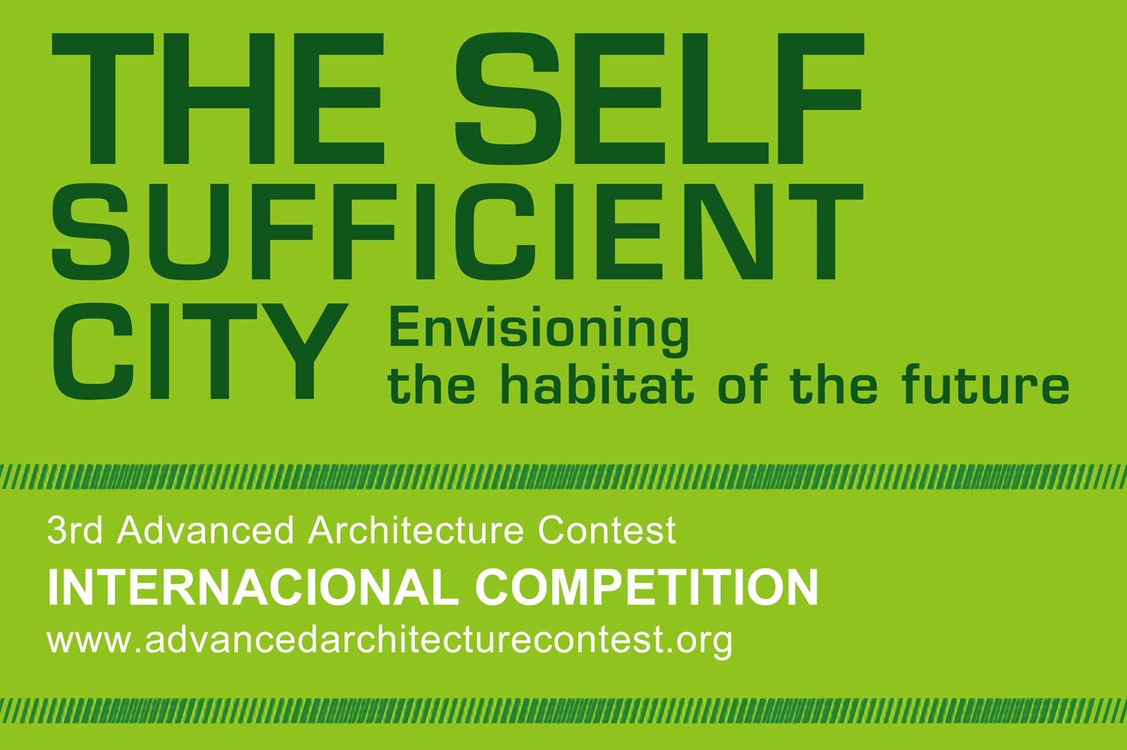 Self Sufficient City Contest Banner