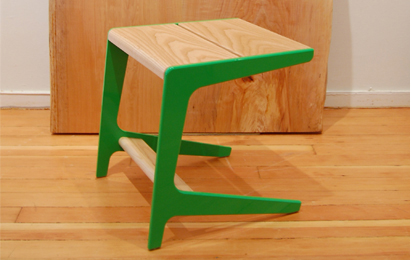 Semigood Design will launch the new Rian RTA Collection with this Dwell-edition stool.