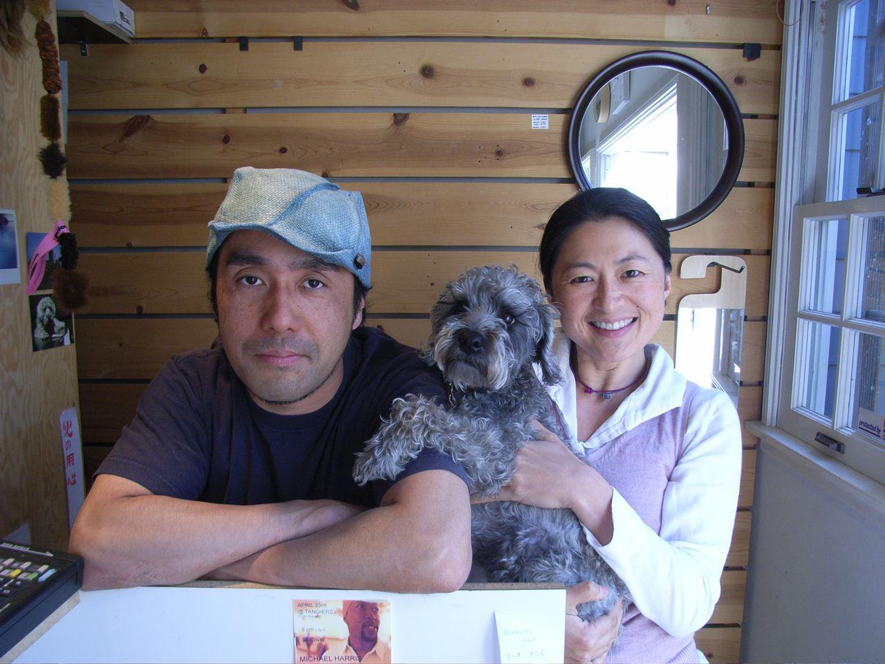 Shinomoto Taku and Keiko