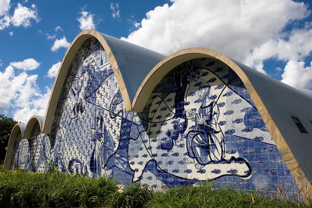 St Francis Assisi Pampulha Niemeyer