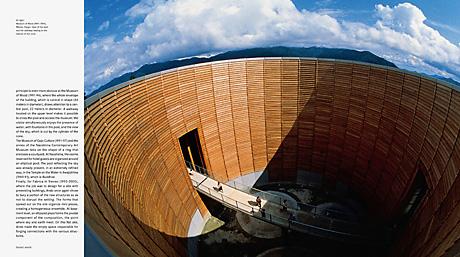Tadao Ando book spread Museum of Wood