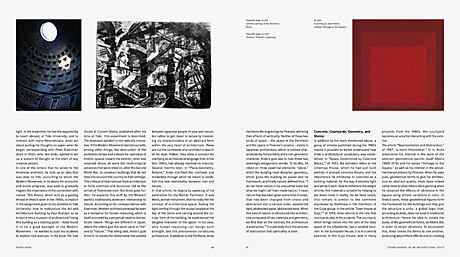 Tadao Ando book spread