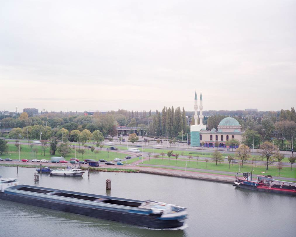 The Mevlana Mosque in Rotterdam, photographed by Christian van der Kooy.