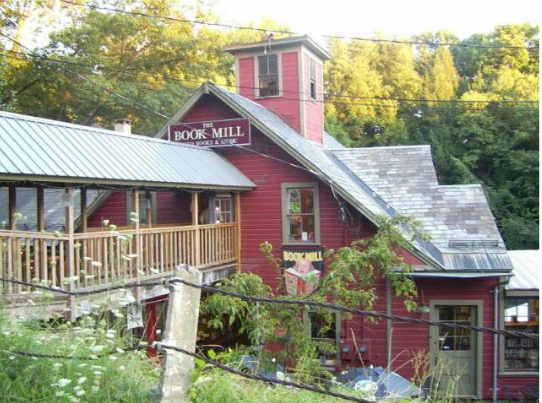 A charming spot in rural Western Massachusetts, the Montague Bookmill is as cozy as a bookstore gets. The last time I was there I picked up an edition of poetry from New Englander Donald Hall.