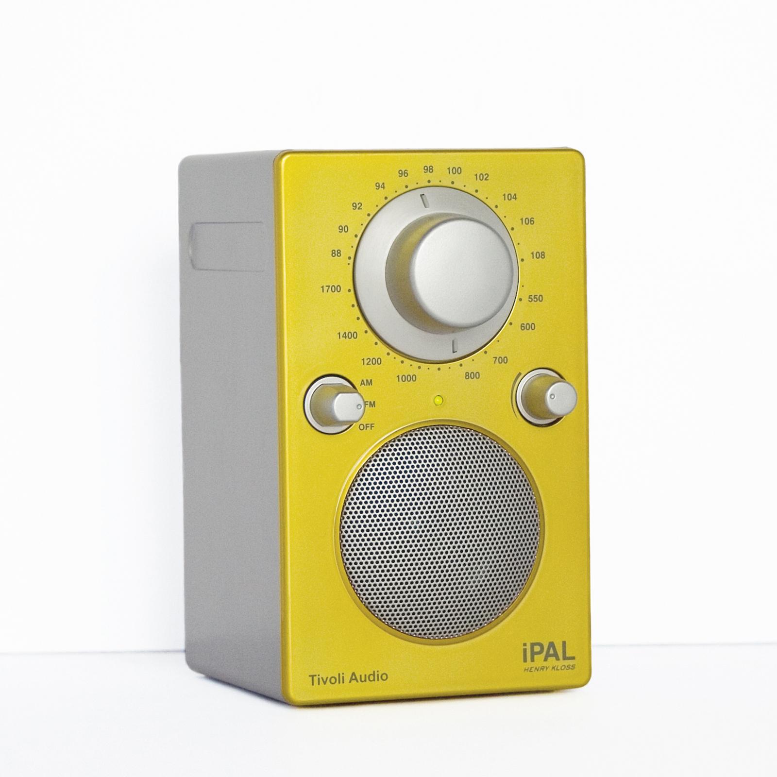 Tivoli iPAL yellow silver hi res
