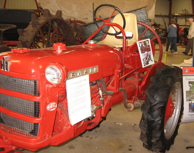 tractor with eames-like chair submitted by dwell reader stever rankin