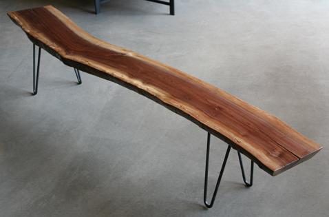 Urban Hardwoods Seattle Bench