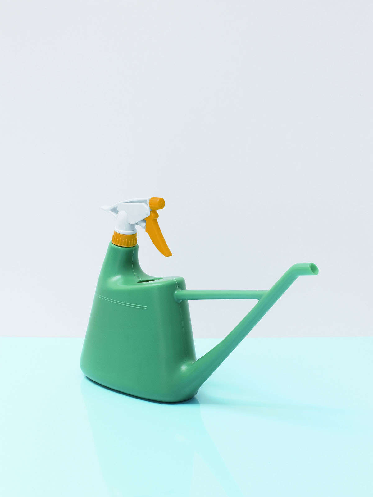 """A watering can and spray bottle combination (dubbed a """"failure"""" by Hecht) from Malaysia. Photo: © Usefulness in Small Things, Rizzoli, 2011."""