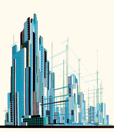 architectural fantasies artwork