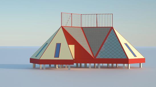 arctic tourist cottages