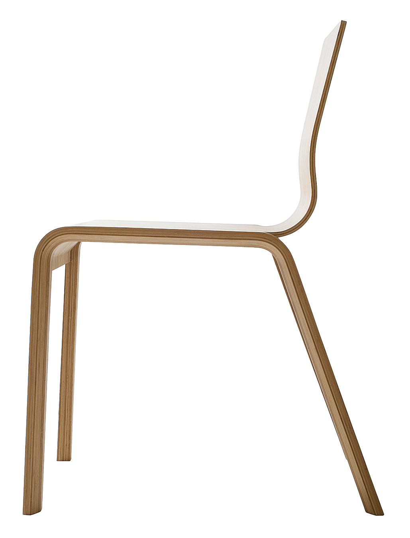 The stackable Bambu chair, designed by Henrik Tjaerby (2006), is part of Artek's Bambu series.