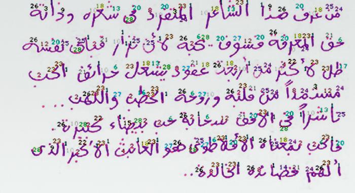 bilak peter arabic font 1