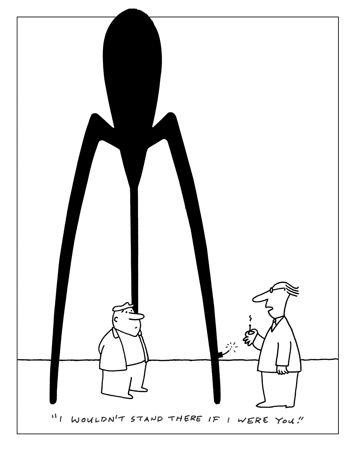 charles barsotti stand there cartoon