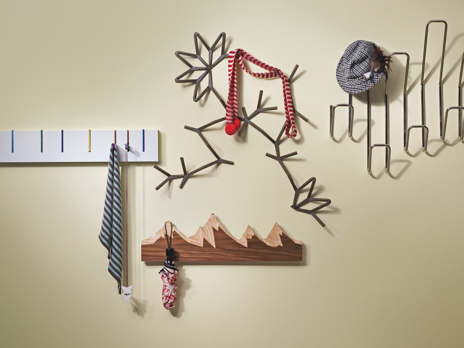 coatracks and hanging systems assortment view a