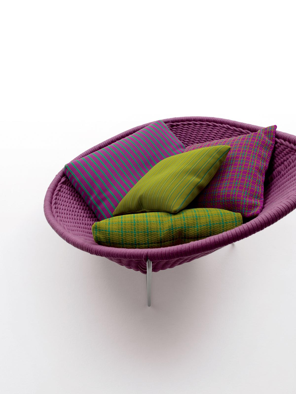 color paola lenti furniture nido armchair