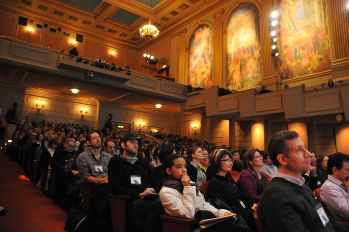 """A packed house gathered at Herbst Theater on January 22 to hear speakers deliver talks on design and sustainability at the <a href=""""http://compostmodern.org/"""">2011 Compostmodern</a> conference."""