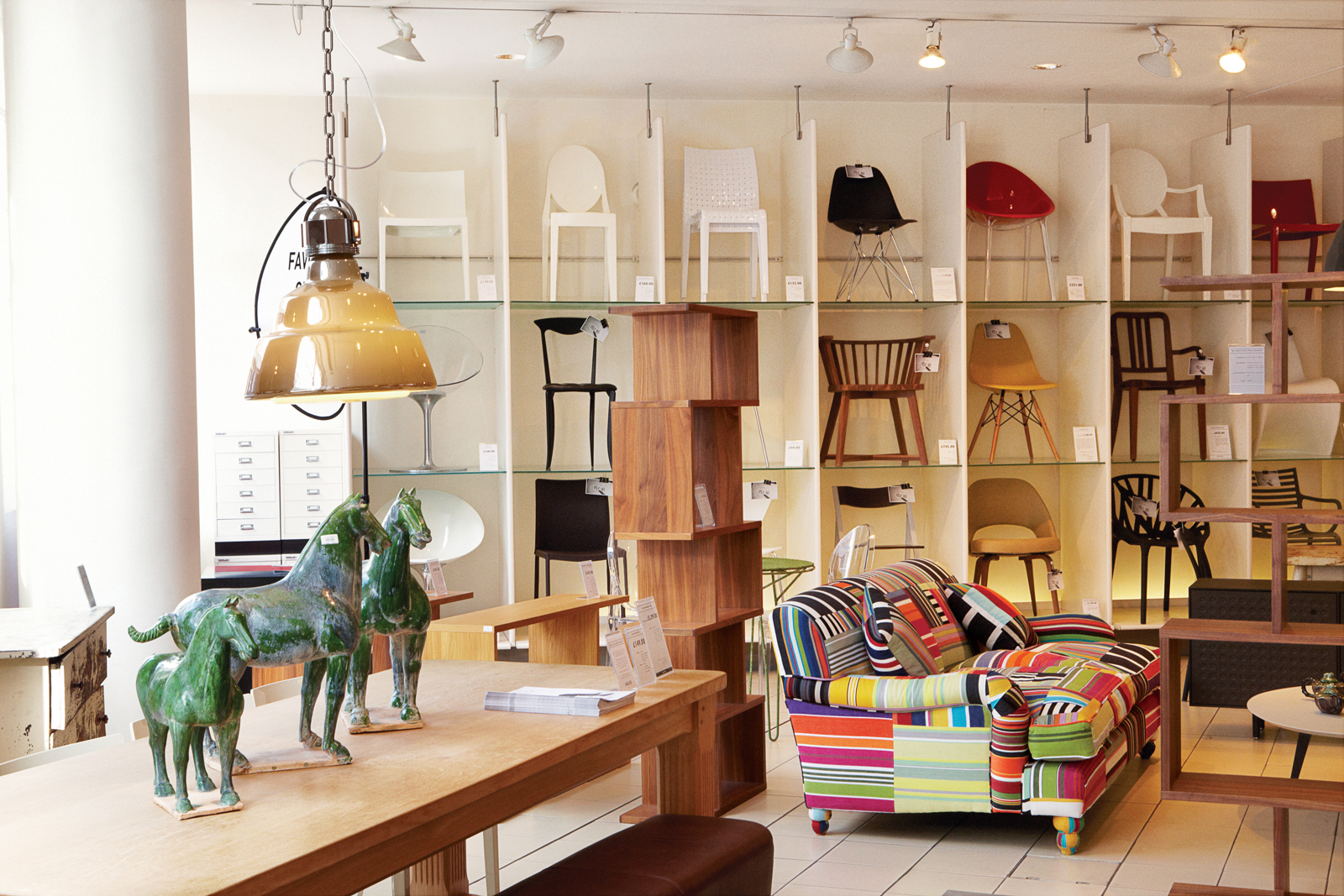 The Conran Shop has sites in countries around the world, but the original flagship shop is located in the historic Michelin building in London's Chelsea district.
