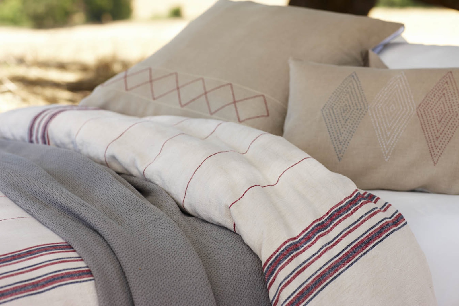 The linen-based Deep Woods collection.